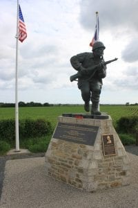 Normandy Major Winter's Memorial