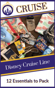 12 Essentials to Pack for a Disney Cruise