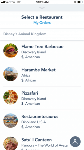 How to Mobile Order at Walt Disney World