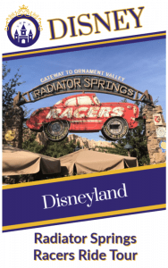 Disneyland Radiator Springs Racers Ride