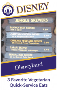 3 Favorite Vegetarian Eats at Disneyland
