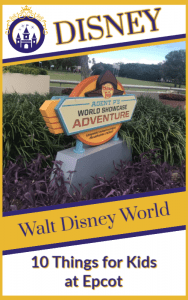10 Things for Kids to do at Epcot