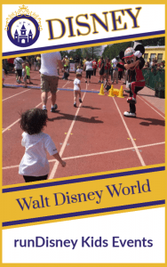 runDisney Kid Races at Walt Disney World Resort