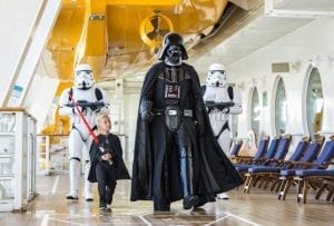 Disney Cruise Line Star Wars Darth Vader