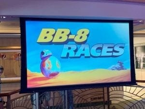 BB-8 Races Disney Cruise Line