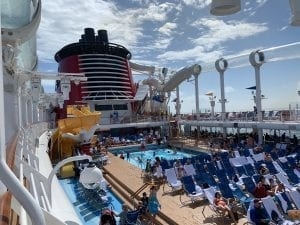 Disney Cruise Line Star Wars pool