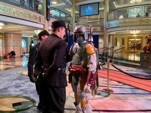 Disney Cruise Line Star Wars Boba Fett