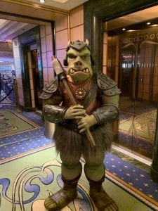 Disney Cruise Line Star Wars Gamorrean