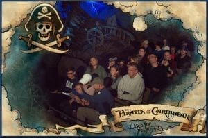 Pirates of the Caribbean Photo Pass