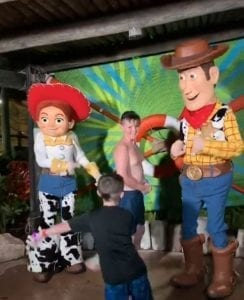 Disney's H2O Glow Nights Party at Typhoon Lagoon Character Meet and Greet