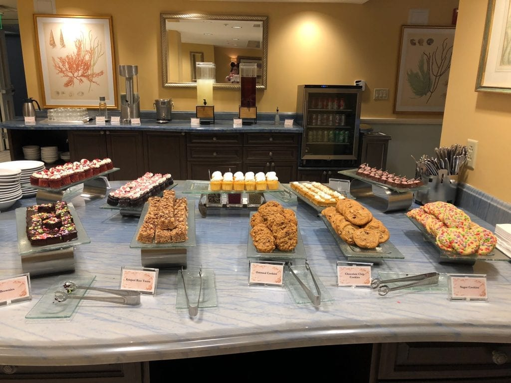 Disney Concierge Club Level Food