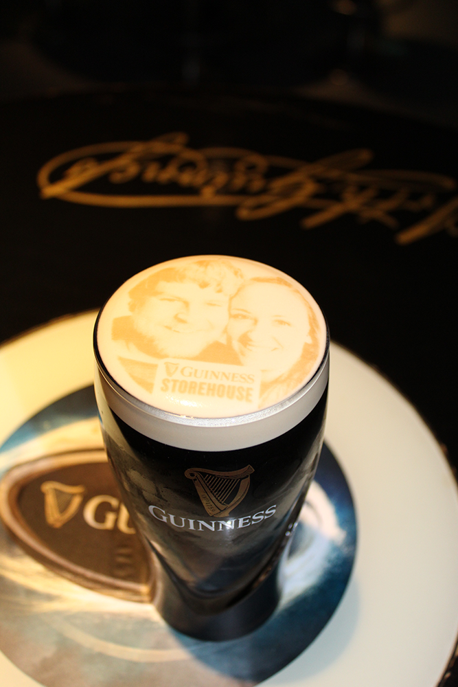 Guinness Beer First Visit to Ireland