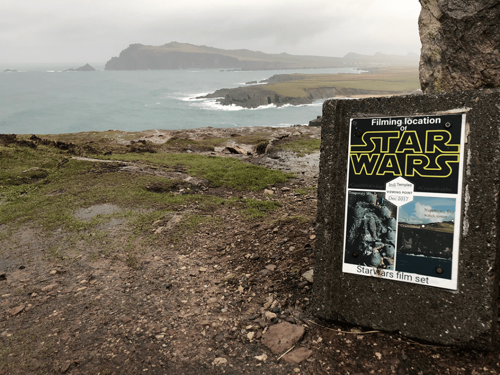 Star Wars filiming location Ireland