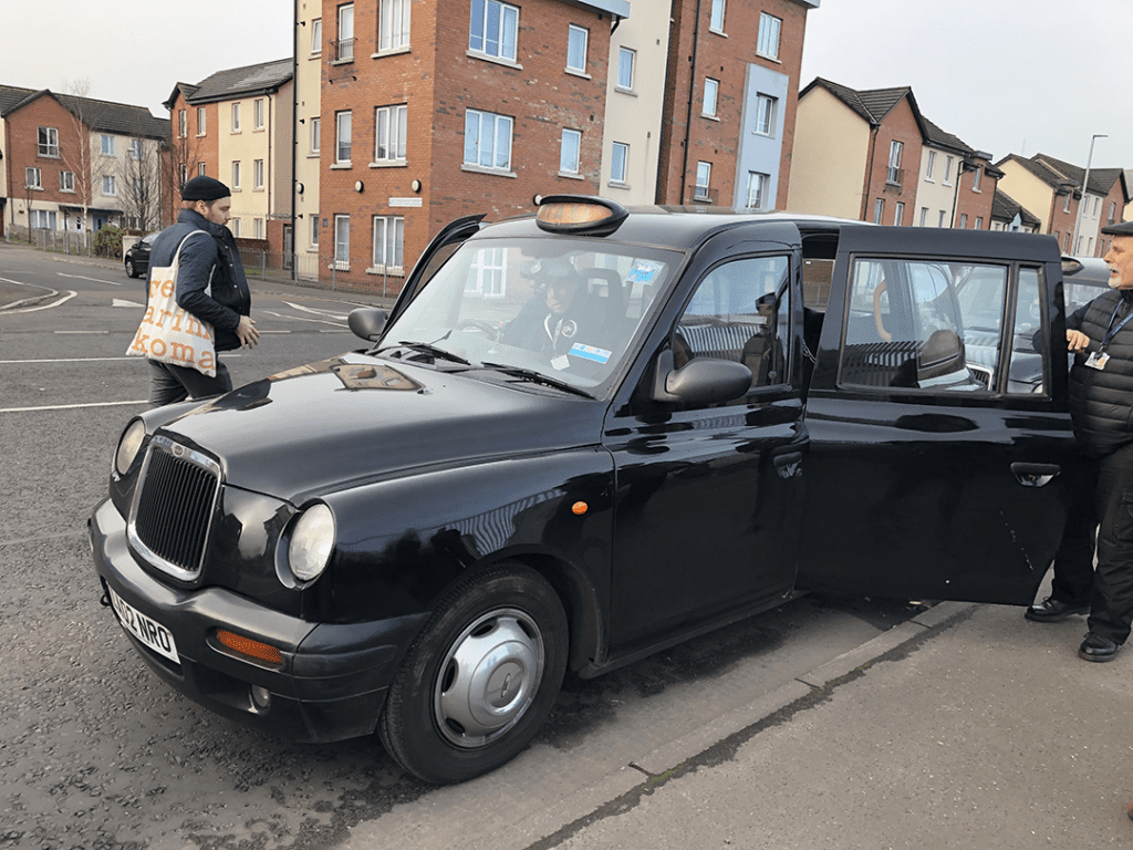 Black Taxi Tour Belfast