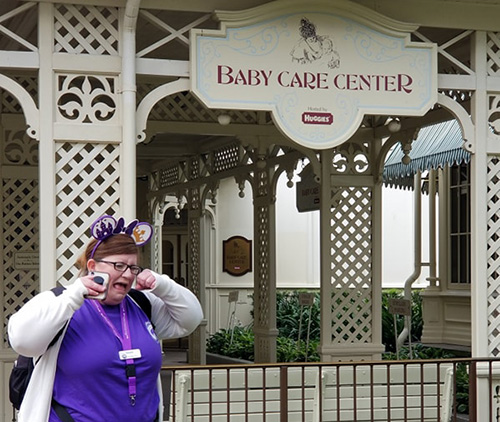 Baby Care Center entrance