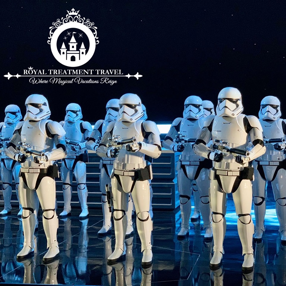 Rise of the Resistance Ride Stormtroopers