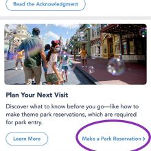How To Disney Park Pass Reservation System